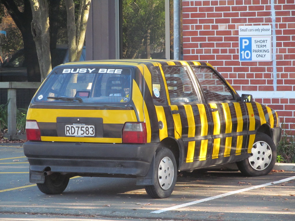 1991 Fiat Uno Ctx Auto A Well Known Local Car As It Was Cu Flickr