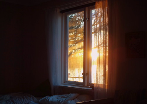 Get Up With The Sun Dirty Window Messy Bed Bad Light