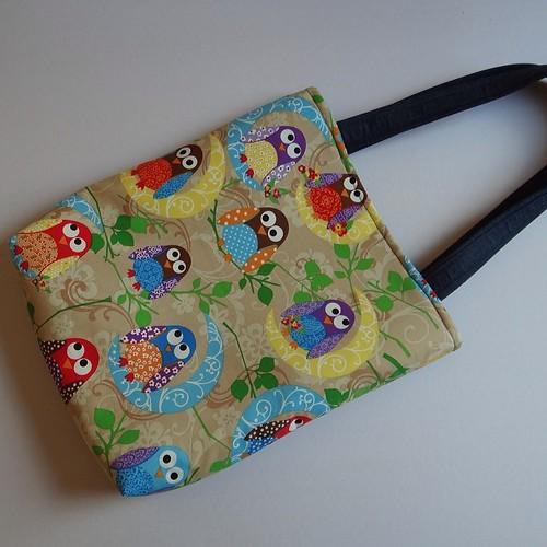 Bolsa De Tecido Decorada Com Coruja : Bolsa by bolodepano tecido coruja cute handmad