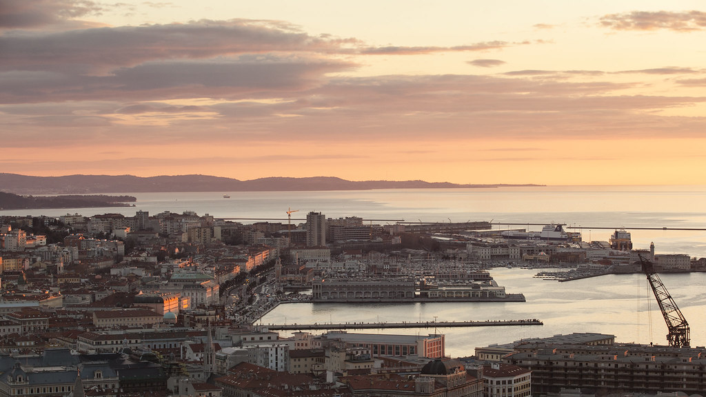 Sunset over Trieste - Italy