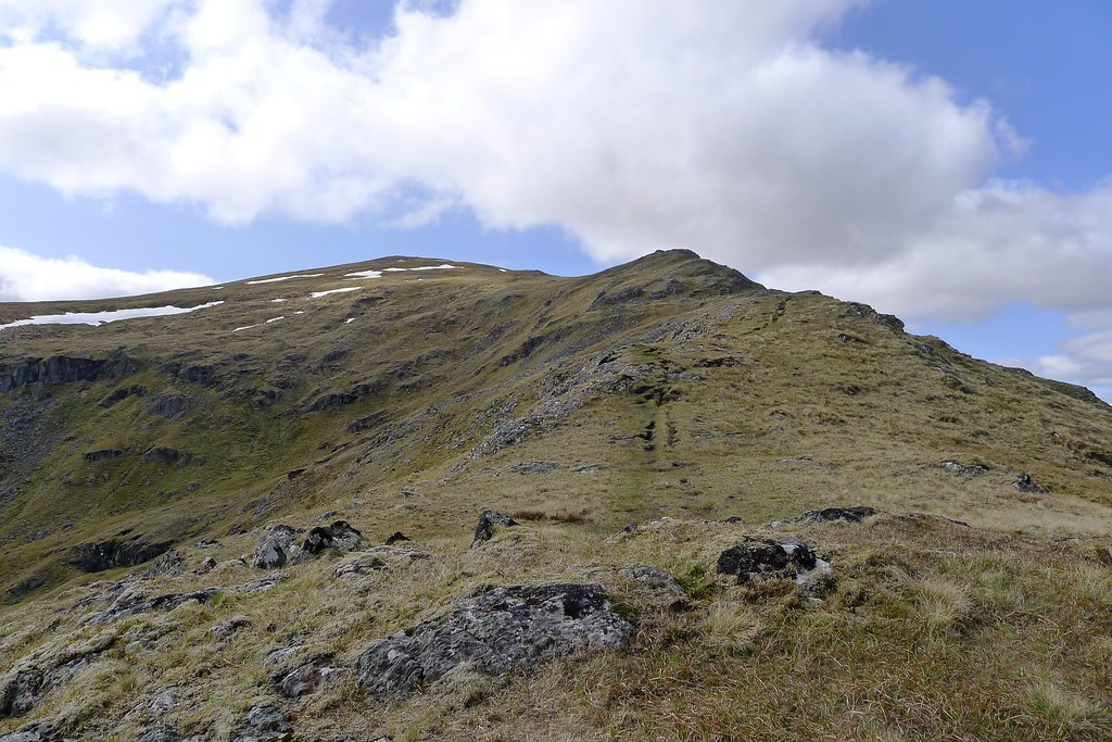 East ridge of Sgurr Breac