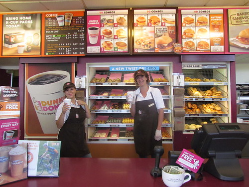 how to get a job in dunkin donuts roblox