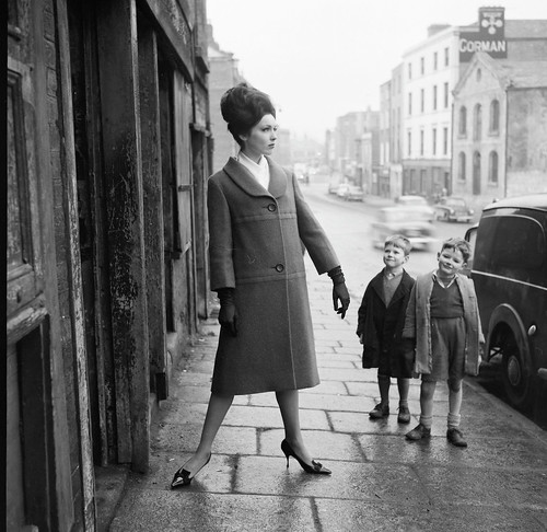 A girl can never have too many admirers! | by National Library of Ireland on The Commons
