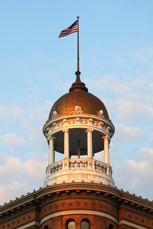 The Dome Building near sundown - Chattanooga