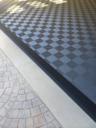 Black And White Diamond Tiles