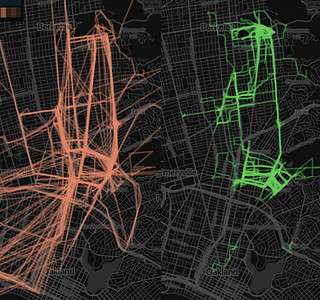 My transit and walking patterns from the last six months | by npdoty