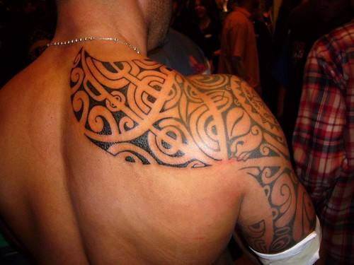 Tribal Shoulder Tattoos For Men Design Ideas Picture | by juliamarshall369
