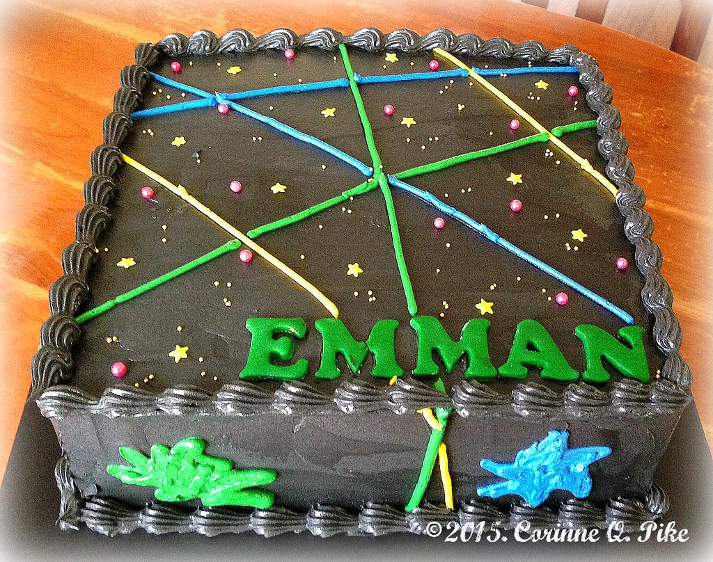Laser Tag Themed Cake Pikerinne Flickr