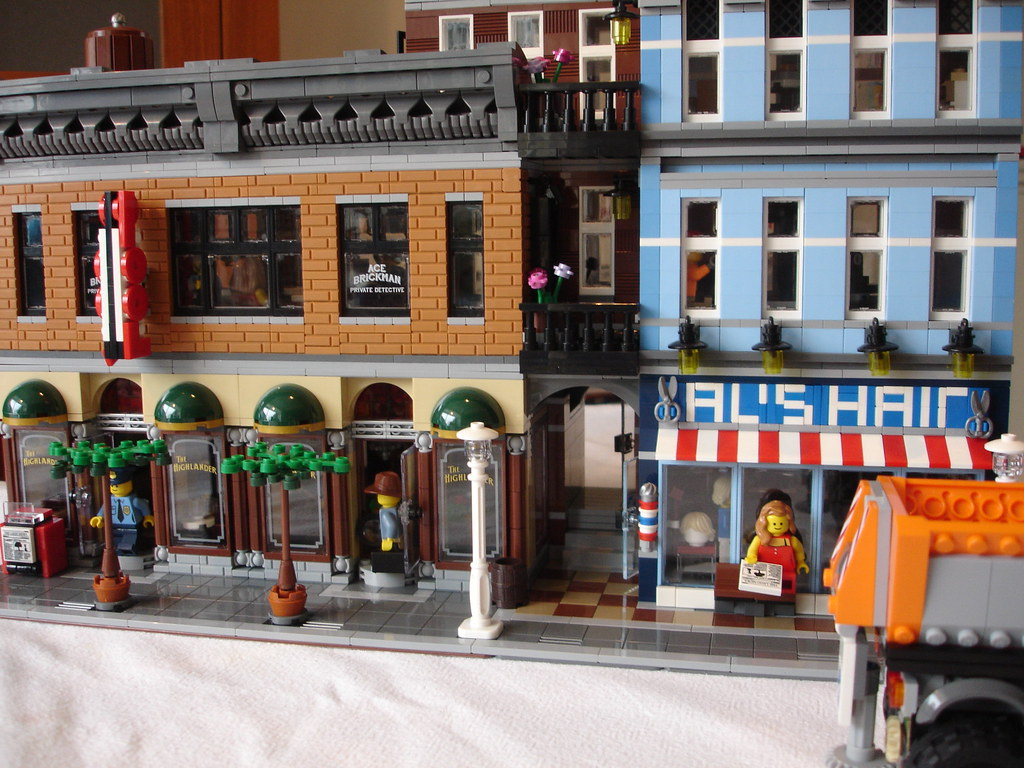 lego office. Finished Lego 10246 Detective\u0027s Office Modification | By LegoSjaak