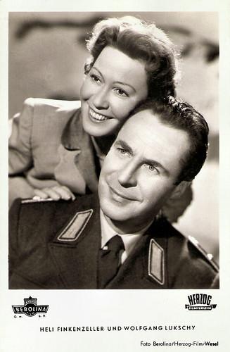 Heli Finkenzeller and Wolfgang Lukschy