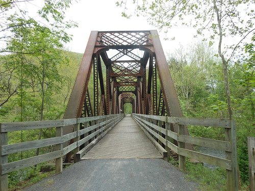 At Waterville Pa This Is The Bike Path Taken May