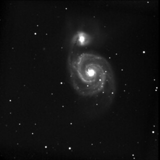 Whirlpool galaxy | by augustinecollective