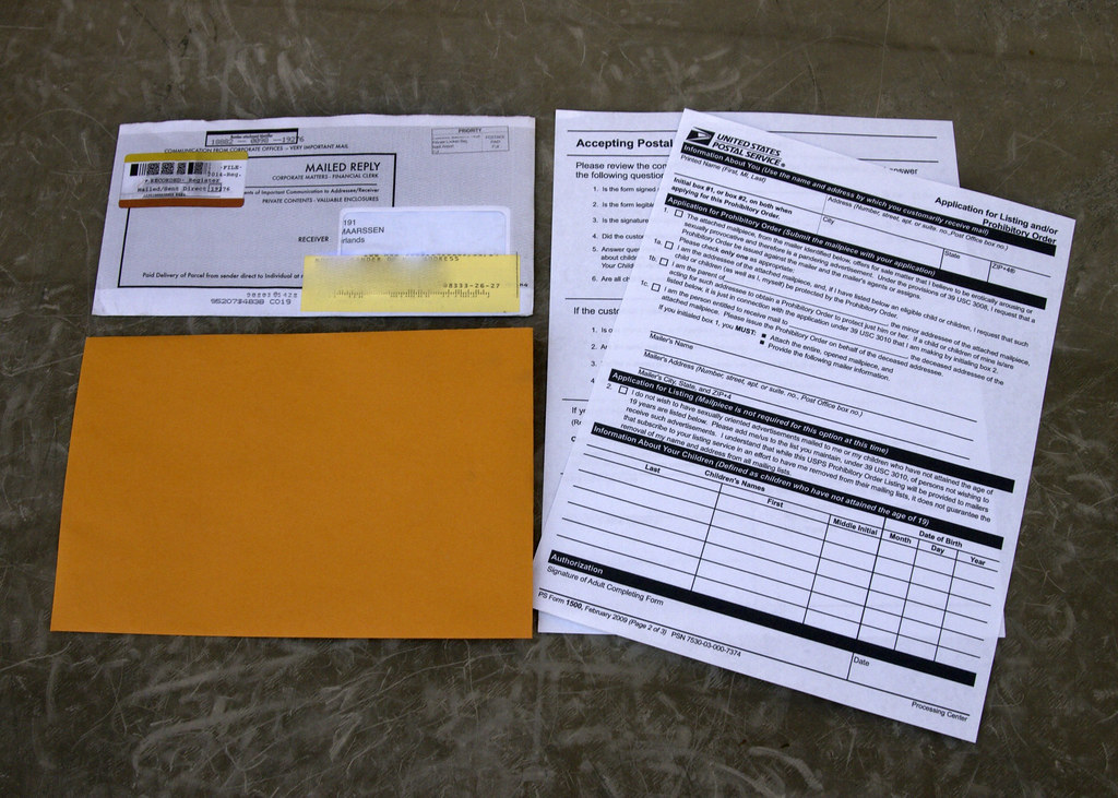 Fraud letter and USPS form 1500 | Read more about my adventu… | Flickr