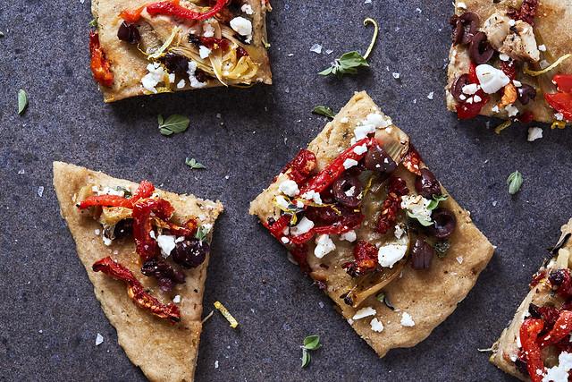 Gluten-free Mediterranean Flatbread