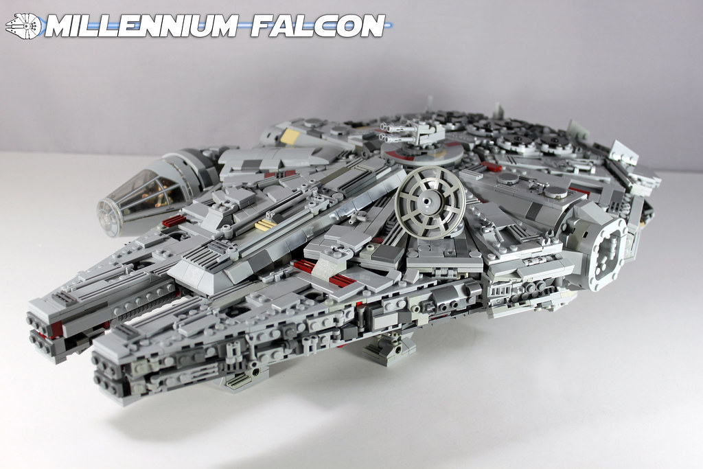 Custom Lego Star Wars Millennium Falcon She May Not Look Flickr
