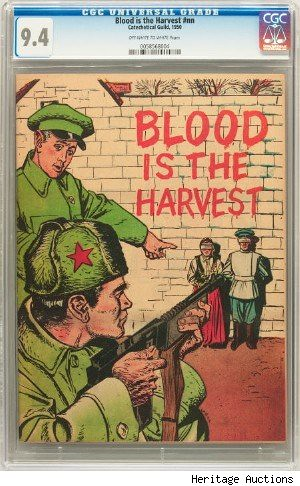 Blood is the harvest