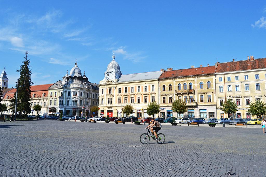 Piaţa Unirii Cluj-Napoca