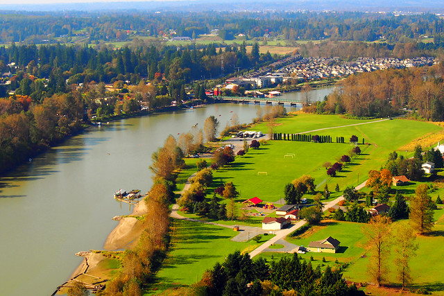 Bird's Eye View of the Fraser Valley
