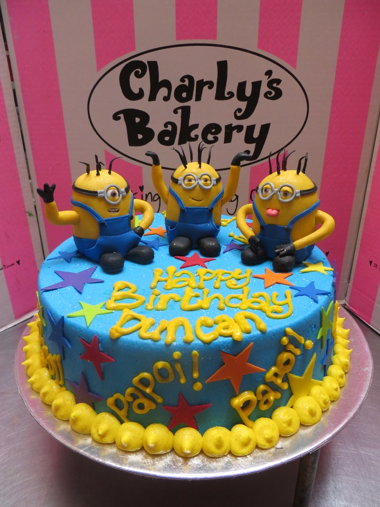 Minion Birthday Cake Charlys Bakery Flickr