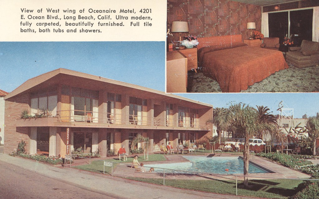 Oceanaire & Beach Motels - Long Beach, California
