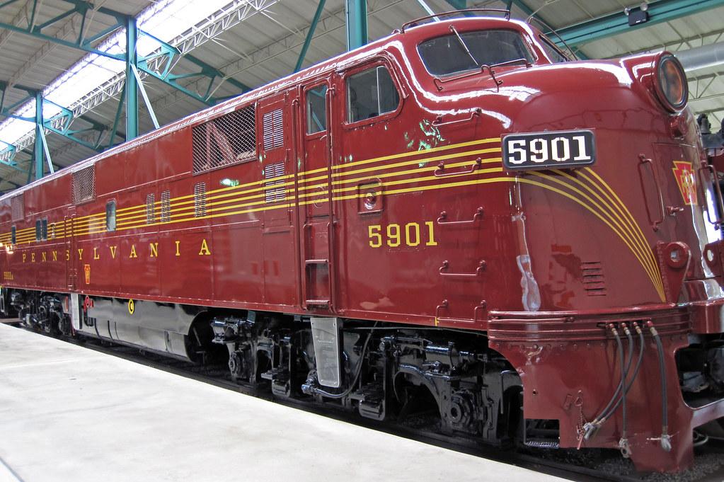 ... Pennsylvania Railroad # 5901 diesel locomotive (E7A) 1 | by James St.  John