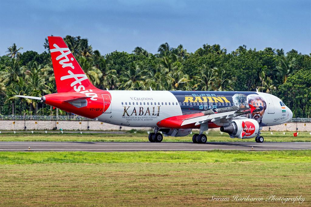 VT-APJ AirAsia India Airbus A320-216