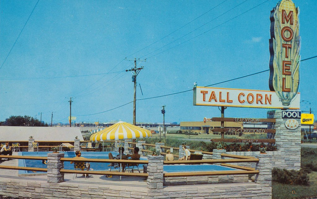 Tall Corn Motel Motor Inn - Davenport, Iowa
