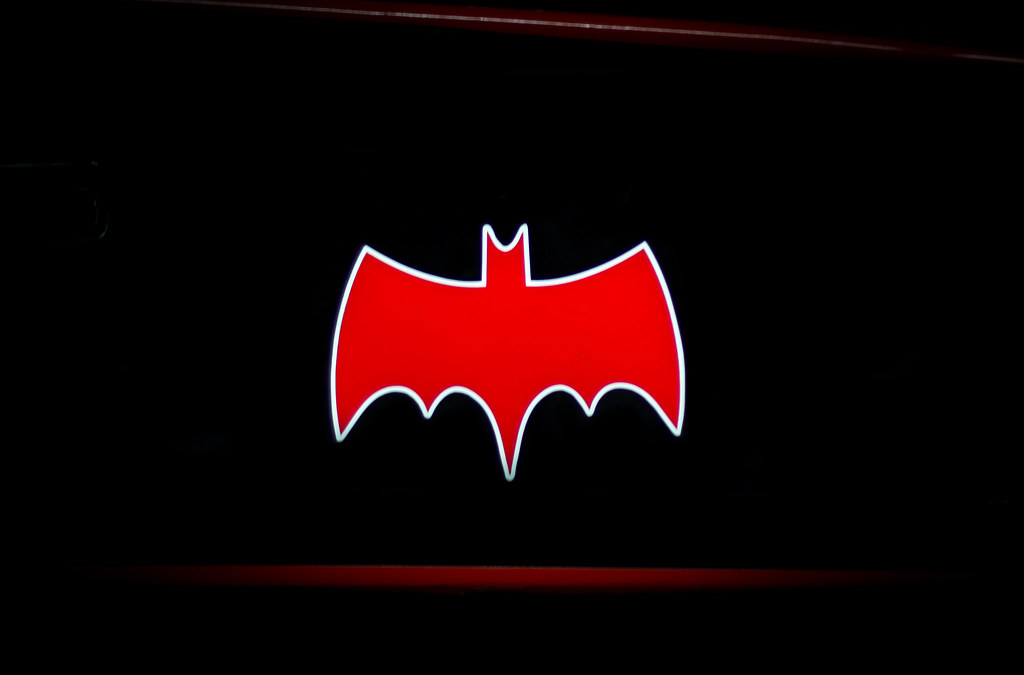 Batman Logo From Original Batmobile This Is Taken From Flickr