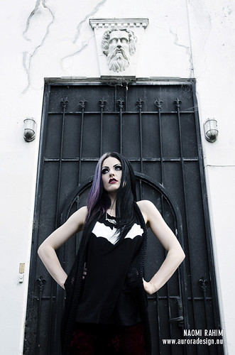 Suburban Goth photoshoot | by Naomi Rahim (thanks for 3.8 million visits)