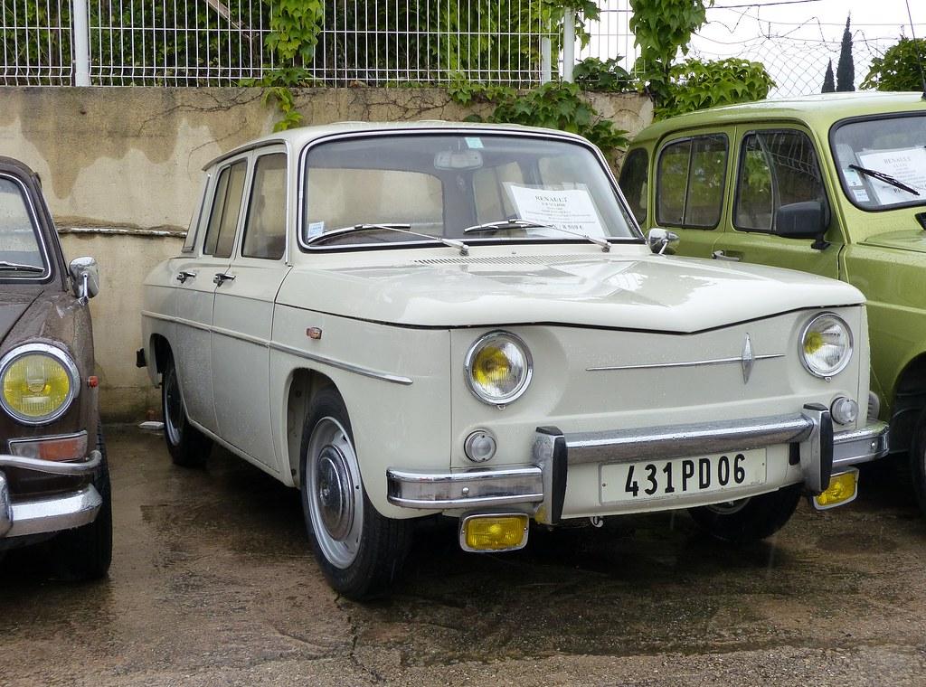 Renault 8 Major 1965 At A Classic Car Dealer In Sainte Max