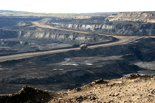 long road into Jacpine oilsands mine | by pembina.institute