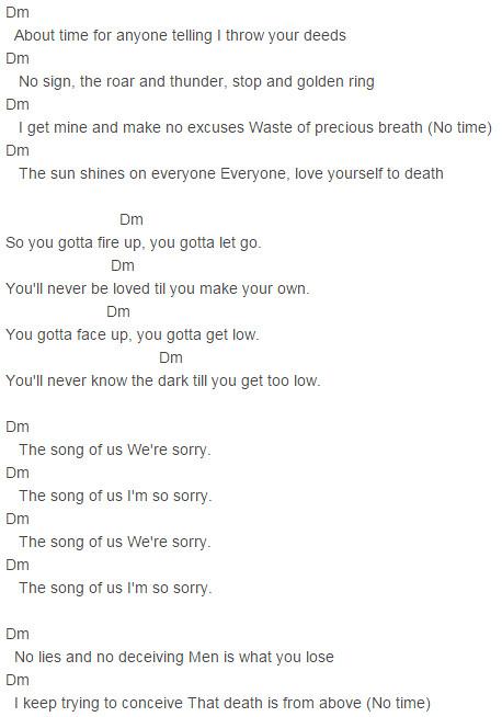 Im So Sorry Chords Imagine Dragons Im So Sorry Chords Im Flickr