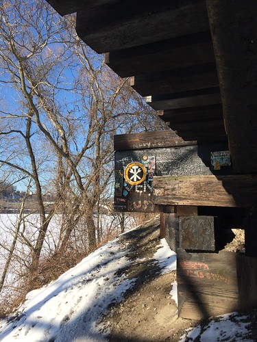 Under the railroad trestles - Feb. 20th 2015 | by Sally Ingraham