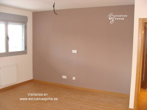 Exclusivas joma pintura interior pintura plastica decoraci for Pinturas plasticas para interiores