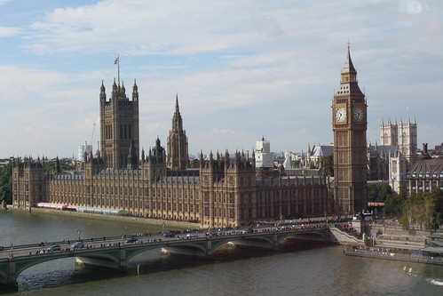 The Houses of Parliament from the London Eye | by oosp
