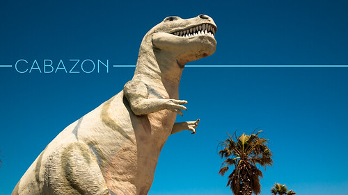Cabazon Dinosaurs California | by CieraHolzenthal