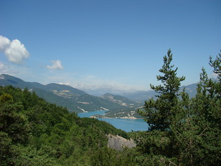 054 Lac de Serre Poncon