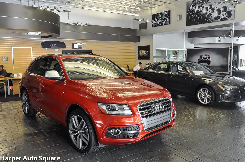 Audi SQ Volcano Red Metallic Harper Audi Harper Auto Square - Harper audi