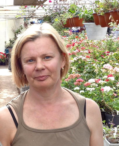 Eva Tingstrom, the owher of ERA Garden nursery, Sweden