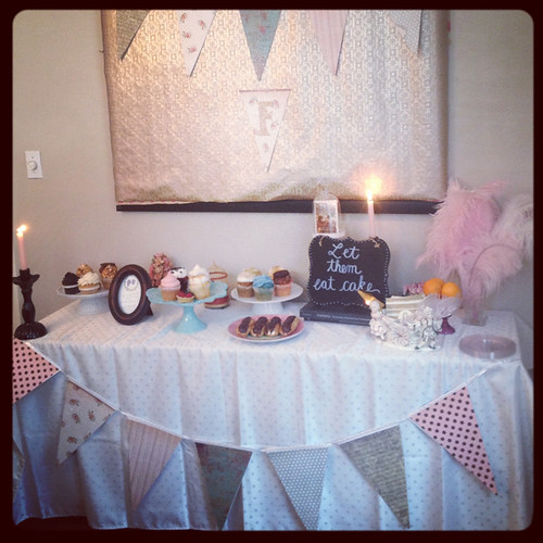 My Winter Marie Antoinette Themed Bridal Shower | by Célèste of Fashion is Evolution