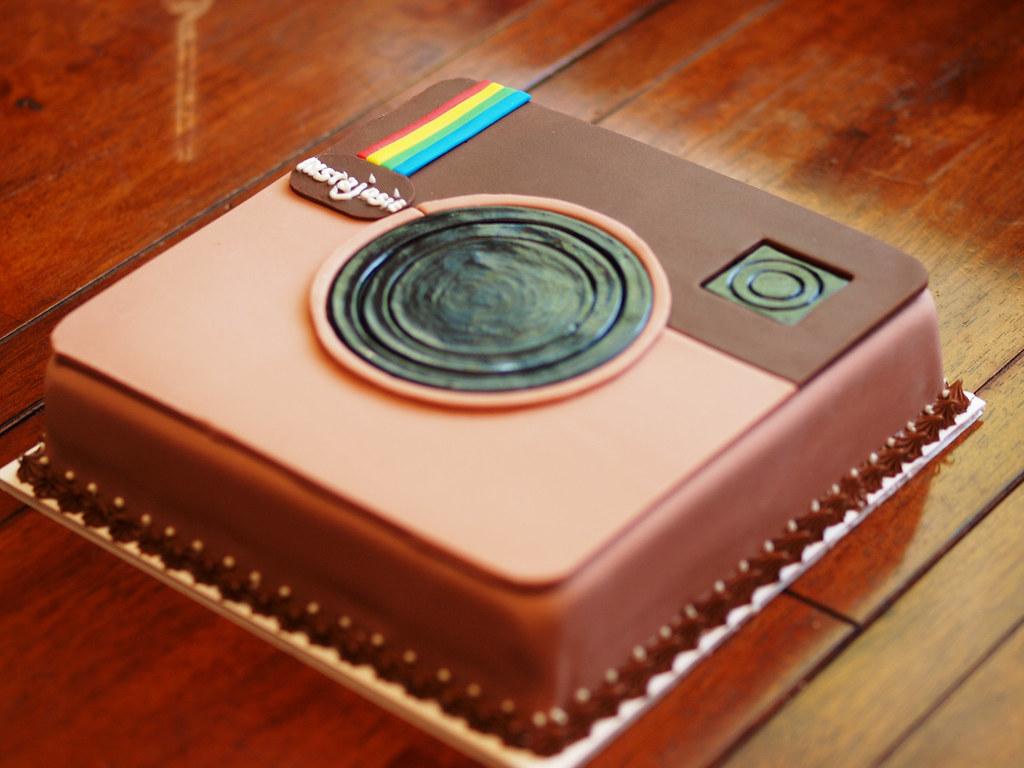 Custom Cake Birthday Cake Single Tier Instagram Them Flickr