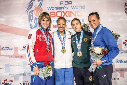 #AIBAstana2016 Medal Ceremonies