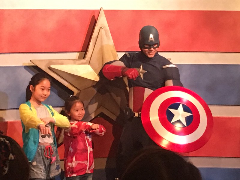 "Captain America ""Soft Power"" at Shanghai Disneyland"