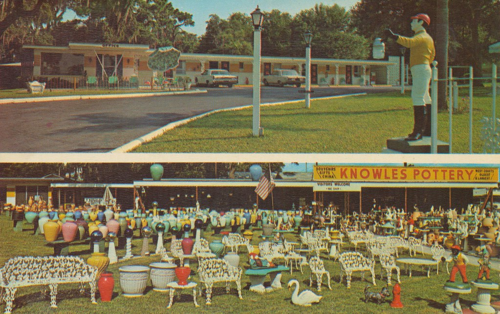 Knowles Motel and Pottery - Clearwater, Florida