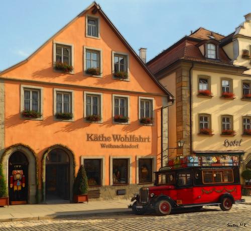 La tienda de la navidad rothenburg ob der tauber alemani - Rothenburg ob der tauber alemania ...