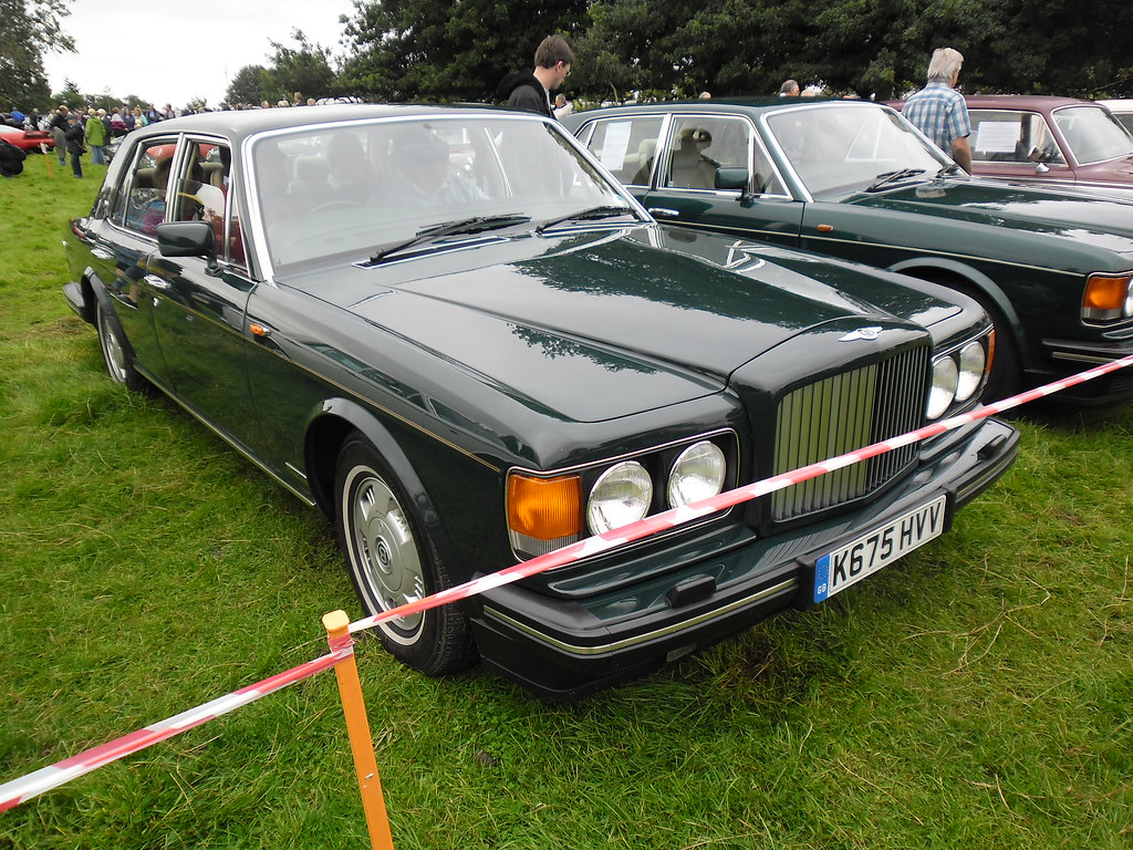 by 1993 Bentley Brooklands Auto -- Henlade, 02-09-12.   by