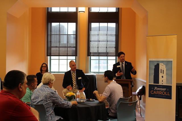 Columbus Alumni Reception Spring 2016