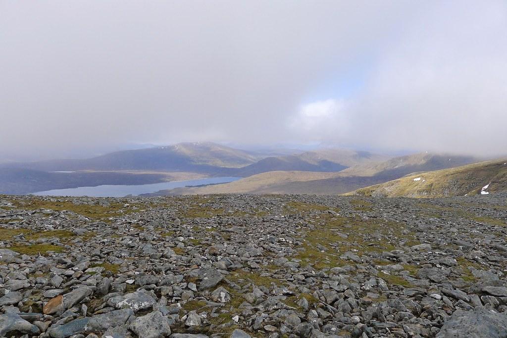 Loch Fannich from Meall Gorm