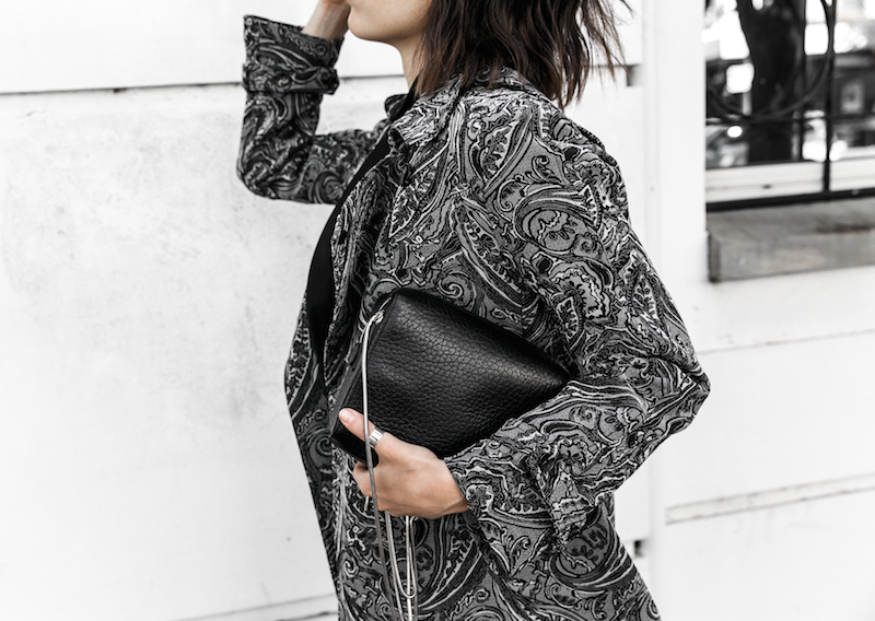 NAKED VICE x MODERN LEGACY affordable luxury bag chain Ellery paisley coats details outfit style inspo  (8 of 19)
