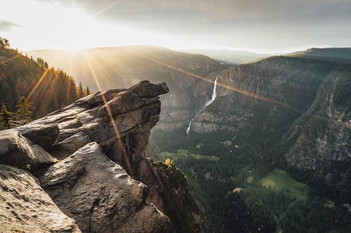 Glacier Point Sunset | by mtch3l